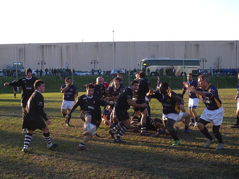 Amatori Rugby Ascoli vs Rugby Falconara Dinamis 8 a 29 Campo Aurini 25-11-12