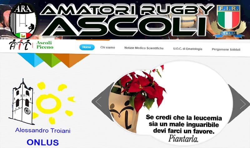 """Fainplast Rugby Ascoli """"Auguri & Solidarietà"""" a favore dell'AIL sezione Alessandro Troiani"""