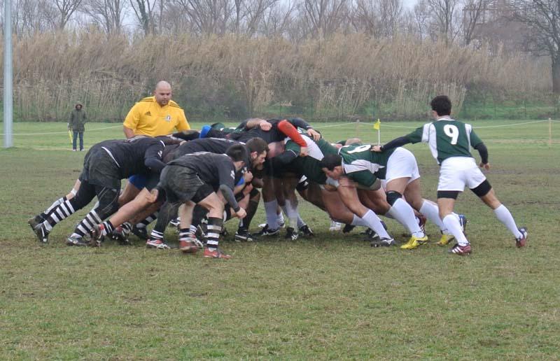 CUS Ancona vs Amatori Rugby Ascoli 8 a 22 Prima girone di ritorno 20-1-13