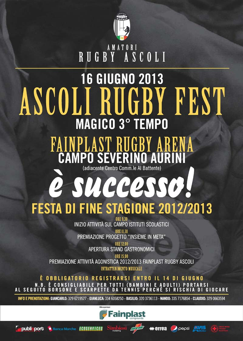 FESTA FINE STAGIONE 2012/2013 E' SUCCESSO!